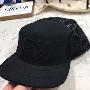 NIKE  black golf 🏌️♀️ cap.   NWOT Black